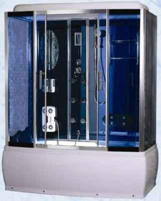 кабина niagara NG 7002 с баней, гидро- и аэро- массажем   (кабина ниагара NG 7002 + баня, гидро и аэро массаж) цена, комплектация, размеры, фото