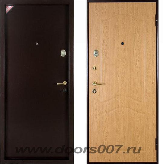 металлическая входная дверь с внутрен