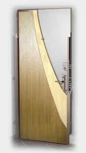 входные двери (стальные двери, металлические двери) DOORS007: дверь Гардиан ДС 1, Внутреннее открывание