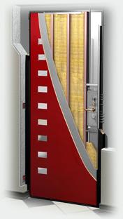 входные двери (стальные двери, металлические двери) DOORS007: дверь Гардиан ДС 2 Рубеж