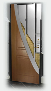 входные двери (стальные двери, металлические двери) DOORS007: дверь Гардиан ДС 2 Двустворчатая