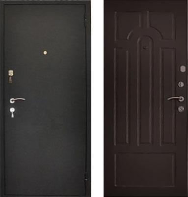Темные входные двери – модно и практично